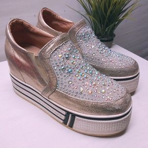Platform Slip-On Sneakers